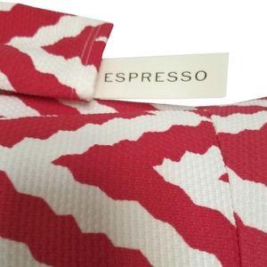 Espresso Dresses - 🆕Espresso Chevron Cold-Shoulder Dress